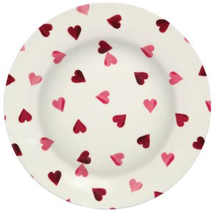 Pink Hearts Melamine Dinner Plate  sc 1 st  Dragonfly Dry Goods & Hearts Melamine Dinner Plate from Emma Bridgewater at Dragonfly Dry ...